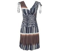 Strandkleid indigo / braun / mischfarben