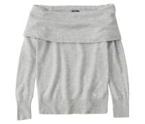 Pullover 'cashmere Ots' grau
