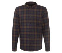 Hemd 'Button Down' dunkelblau / dunkelgrün