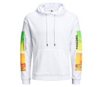 Sweatshirt mischfarben / weiß