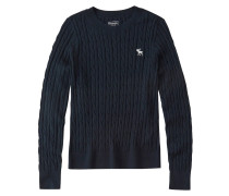Pullover 'cable Moose Crew'