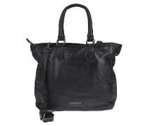 Lederhandtasche Ladybag schwarz