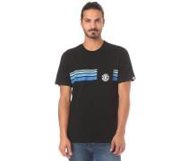 T-Shirt 'Dawn Pocket' schwarz