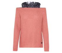 Pullover 'Bill' rosé / schwarz
