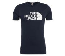 T-Shirt nachtblau / weiß