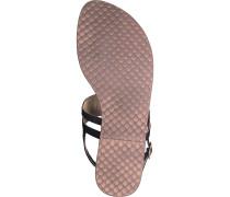 Zehentrenner Sandale schwarz