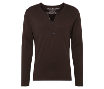 Langarmshirt 'mls00038' anthrazit