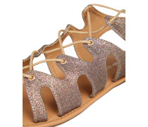 Sandaletten taupe / mischfarben