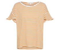 T-Shirt gelb / offwhite