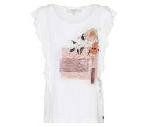 Shirt 'Milano T-shirt' mischfarben / koralle