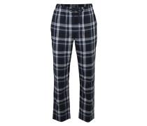 Pyjamahose dunkelblau / grau