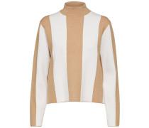 Pullover honig / weiß
