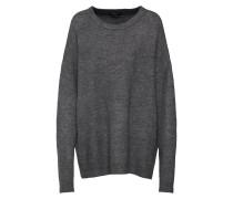 Oversized Pullover grau / anthrazit