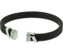 Armreif '110549-19' schwarz / silber