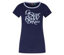 Shirt 'Civita slim r t wmn s\s' blau
