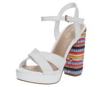Sandalette 'vellanvrane' mischfarben / weiß