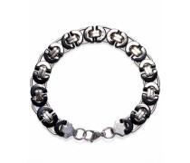 Armband 'Black silver 1286'