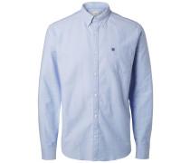 Oxford -Langarmhemd hellblau