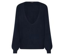 Pullover 'core V RIB D-Strick' dunkelblau