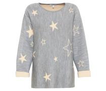 Sweatshirt 'star' grau