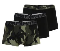 Boxershorts 'damien' grün / schwarz