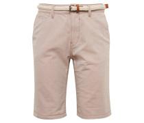 Shorts beige / braun / weiß