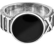Ring '132270824-066' schwarz / silber