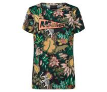 Shirt dunkelgrün / mischfarben