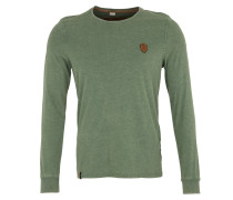 Langarmshirt grasgrün