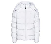 Winterjacke weiß