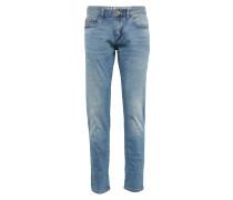 Jeans im Used-Style blue denim