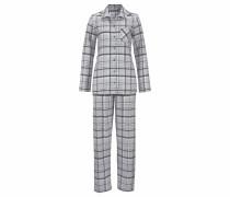 Flanell-Pyjama 'Susannah' grau