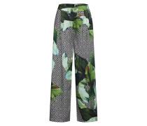 Hose 'terry Pants' khaki / mischfarben