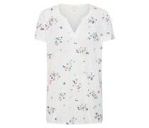 Shirt 'Co/Mod Henley T-Shirts' offwhite