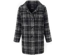 Jacke grau / dunkelgrau / schwarz / weiß