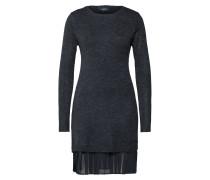 Kleid 'objbell L/S Dress' schwarz
