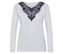 Shirt hellgrau / graumeliert