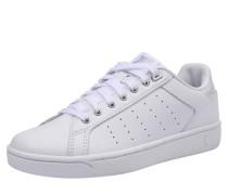 Sneaker 'Clean Court' weiß