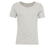 Shirt dunkelblau / hellgrau