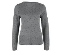 Pullover grau / basaltgrau