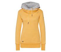Sweatshirt 'doblin' goldgelb / grau