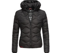 Winterjacke 'Key Color' schwarz