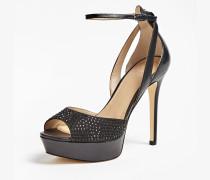 Sandalette 'Laurele' schwarz
