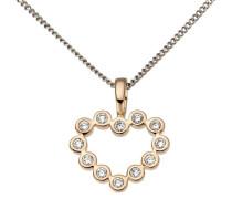 jewels Herzanhänger rosegold