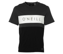 Block T-Shirt schwarz