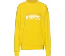 Sweatshirt 'edit' gelb