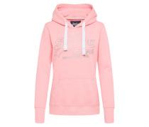 Sweatshirt mit Kapuze pink