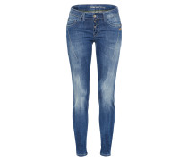 Mid Waist Jeans 'new Georgia' blue denim
