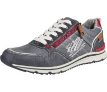 Sneaker weiß / taubenblau