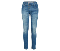 Jeans mit Knopfleiste 'Trousers' blue denim